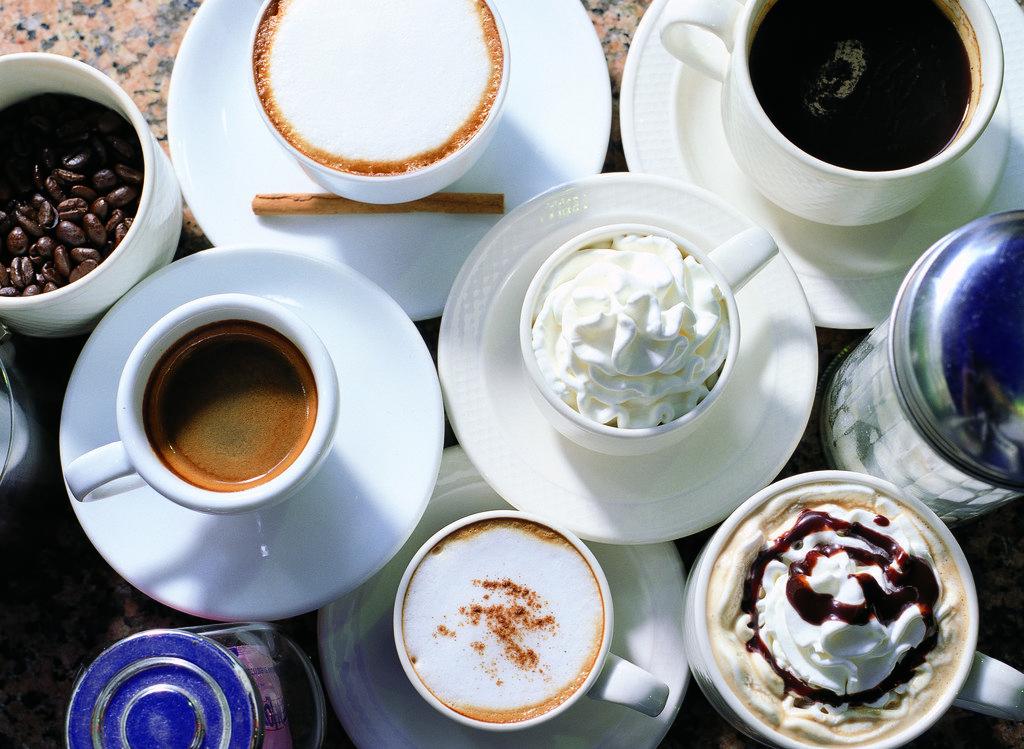 Kafiju un kafijas dzērienu veidi 1