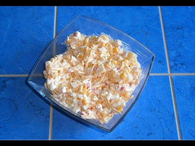 Pikantie salāti ar interesantu garšu salikumu.