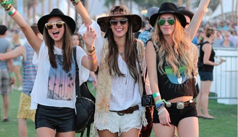 vasaras festivālu modes tendences