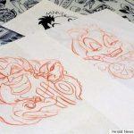 Mīļi: Tetovējumu meistars piepildīja slimas meitenītes sapni 2