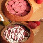 Sātīgu brokastu foto recepte: Pildītais kukulītis 2