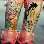 Mīļi: Tetovējumu meistars piepildīja slimas meitenītes sapni 3