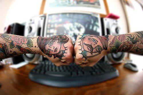 24 idejas pāru tetovējumiem. Kurus izvēlētos jūs? 1