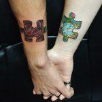 24 idejas pāru tetovējumiem. Kurus izvēlētos jūs? 4
