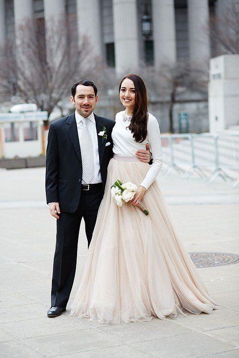 Oriģinālas idejas kāzu kleitai 10