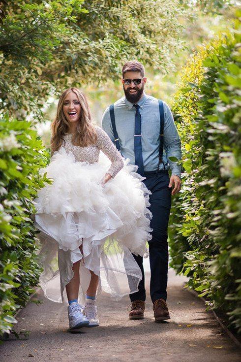 Oriģinālas idejas kāzu kleitai 29