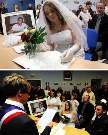 Sieviete, kura apprecēja savu bijušo - mirušo puisi 2