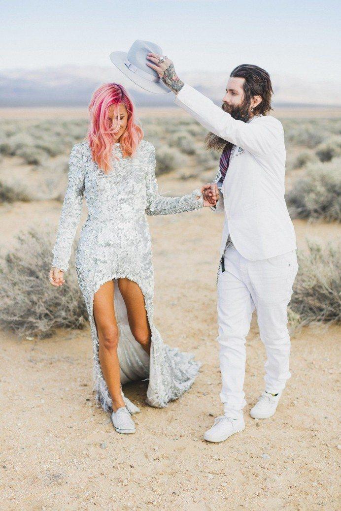 Oriģinālas idejas kāzu kleitai 5