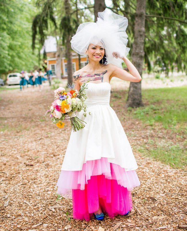 Oriģinālas idejas kāzu kleitai 1