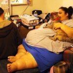 Absurds: Savos 24 viņa sver 300 kg, bet vīrs nevēlas, lai viņa notievē 4
