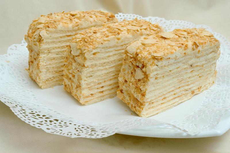 Garšīga torte - Biezpiena Napoleons