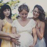Līgavas bērniņa gaidībās ir ne mazāk burvīgas (bildes) 9