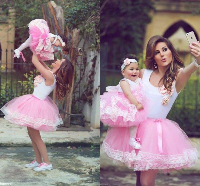 Fantastiskas mammu un meitu bildes 12