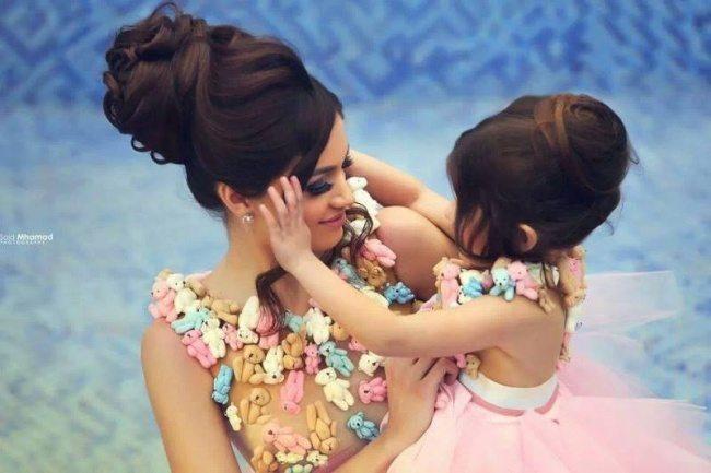 Fantastiskas mammu un meitu bildes 1
