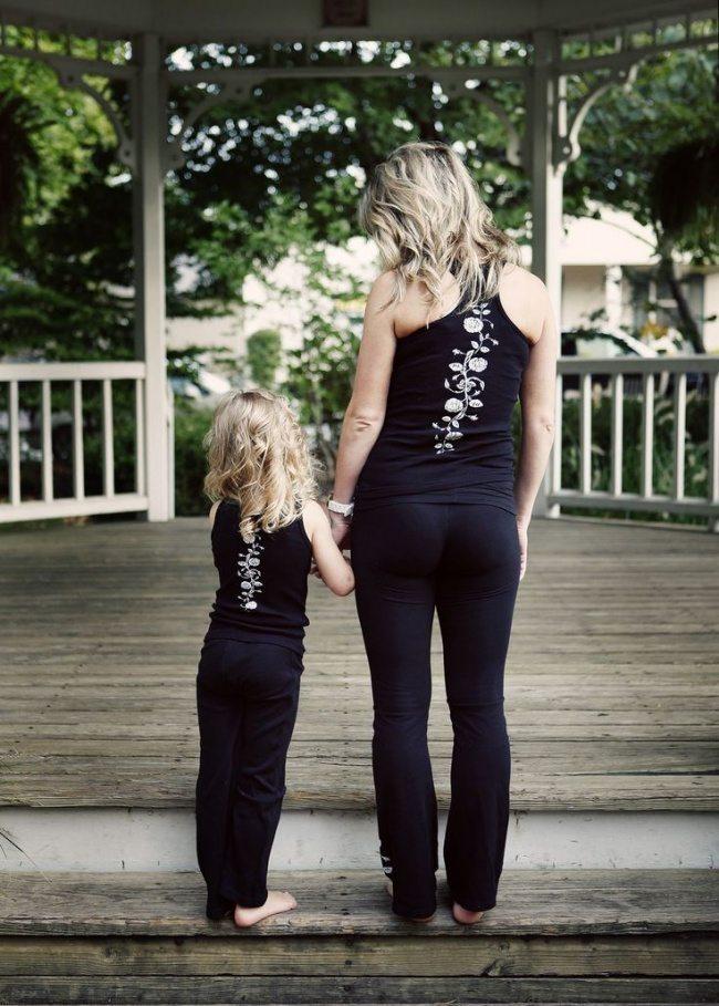Fantastiskas mammu un meitu bildes 7