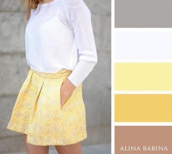 20 ideālas krāsu saderības apģērbā 11
