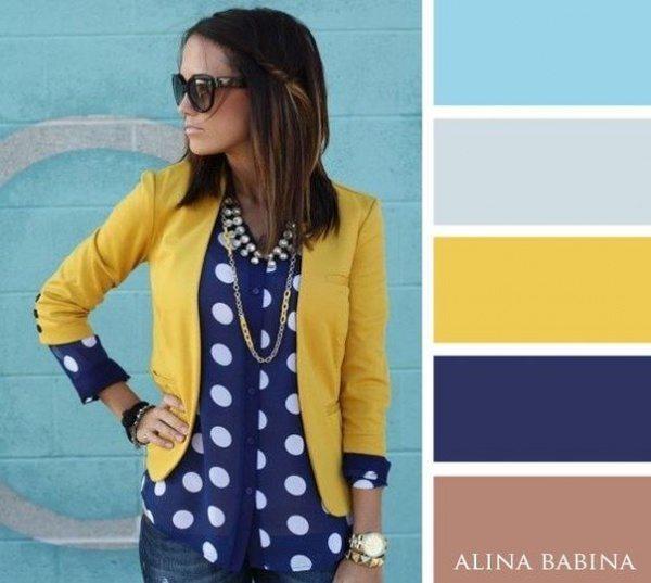 20 ideālas krāsu saderības apģērbā 13