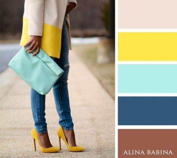 20 ideālas krāsu saderības apģērbā 4