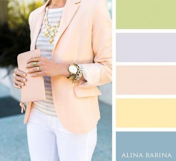 20 ideālas krāsu saderības apģērbā 5