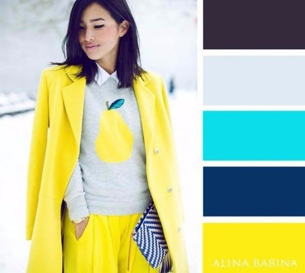 20 ideālas krāsu saderības apģērbā 1