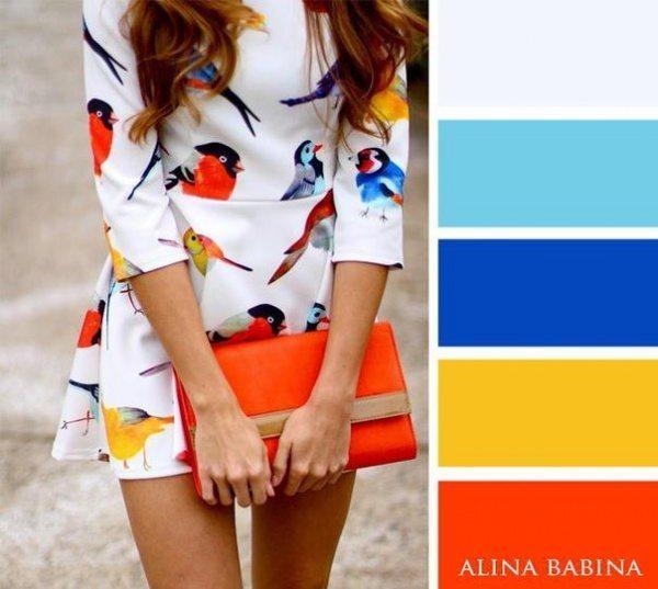 20 ideālas krāsu saderības apģērbā 17
