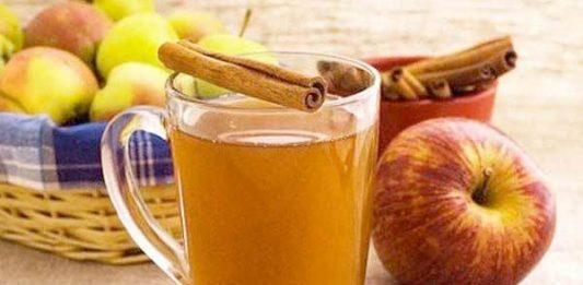 Dzēriens vielmaiņas uzlabošanai - ābolu ūdens ar kanēli