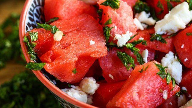 6 lieliskas receptes, kurās galvenā sastāvdaļa ir arbūzs 6