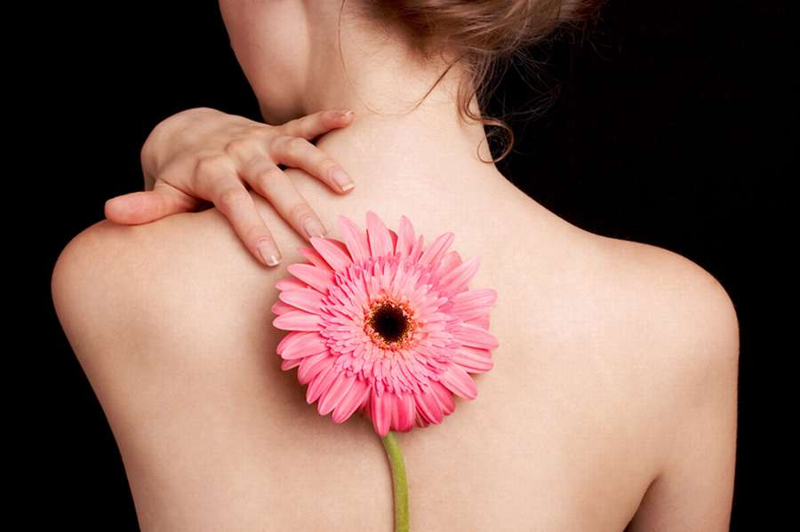Ieteikumi muguras ādas kopšanai