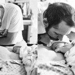 Aizkustinošie mirkļi: Tēti pirmo reizi ierauga savus jaundzimušos 18