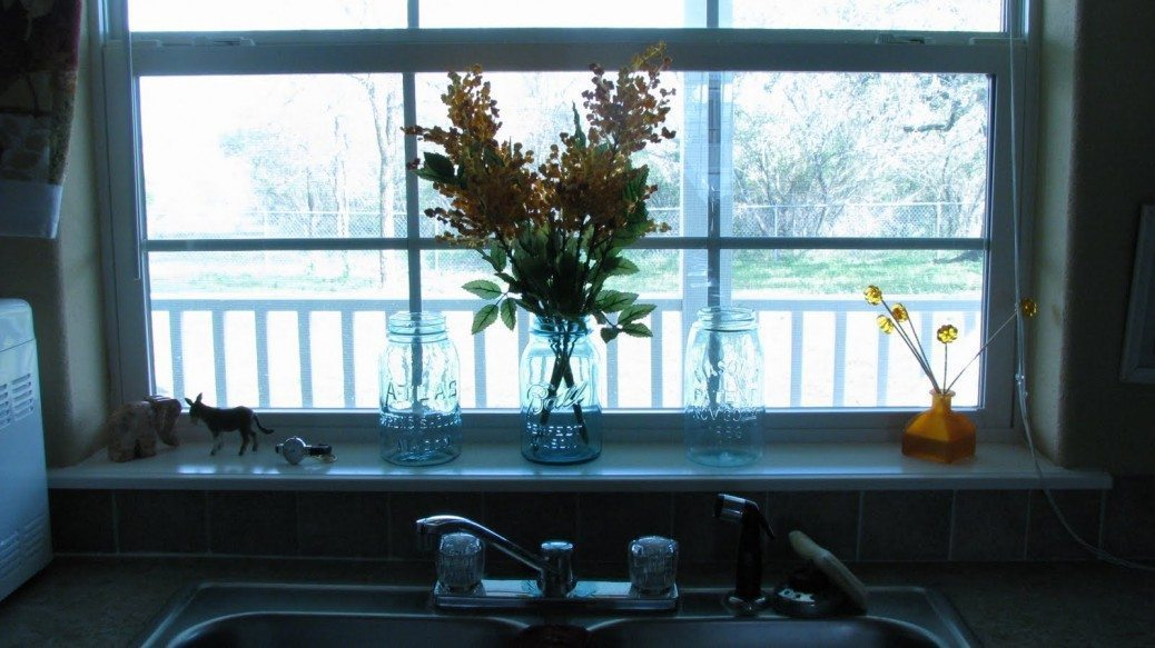 kitchen windowsill 1