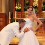 Līgavas bērniņa gaidībās ir ne mazāk burvīgas (bildes) 12