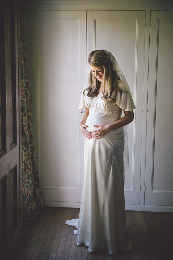 Līgavas bērniņa gaidībās ir ne mazāk burvīgas (bildes) 13