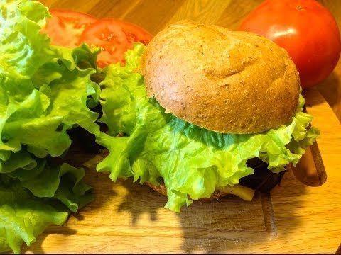 Veģetārais burgers ar sarkanajām pupiņām 1