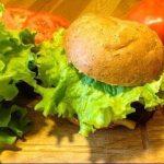 Veģetārais burgers ar sarkanajām pupiņām 2