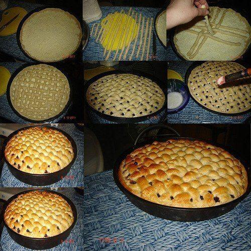 Fantastiskas idejas pīrāgu un smalkmaizīšu cepšanai 8