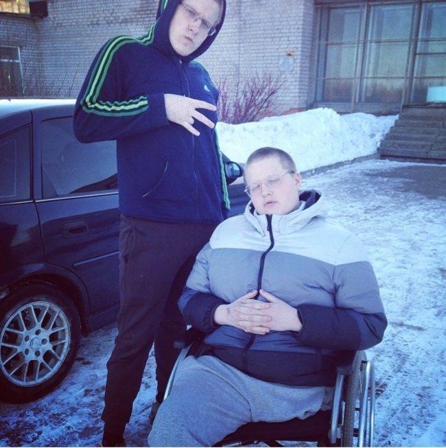Šis puisis zaudēja kāju, bet ieguva gribasspēku 1