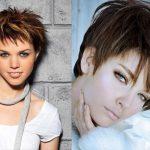Īso matu mode tendences (+bildes) 12