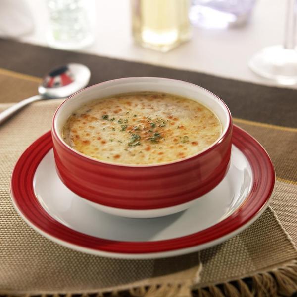 Diētiska siera zupa, 100 gr - tikai 31 kcal