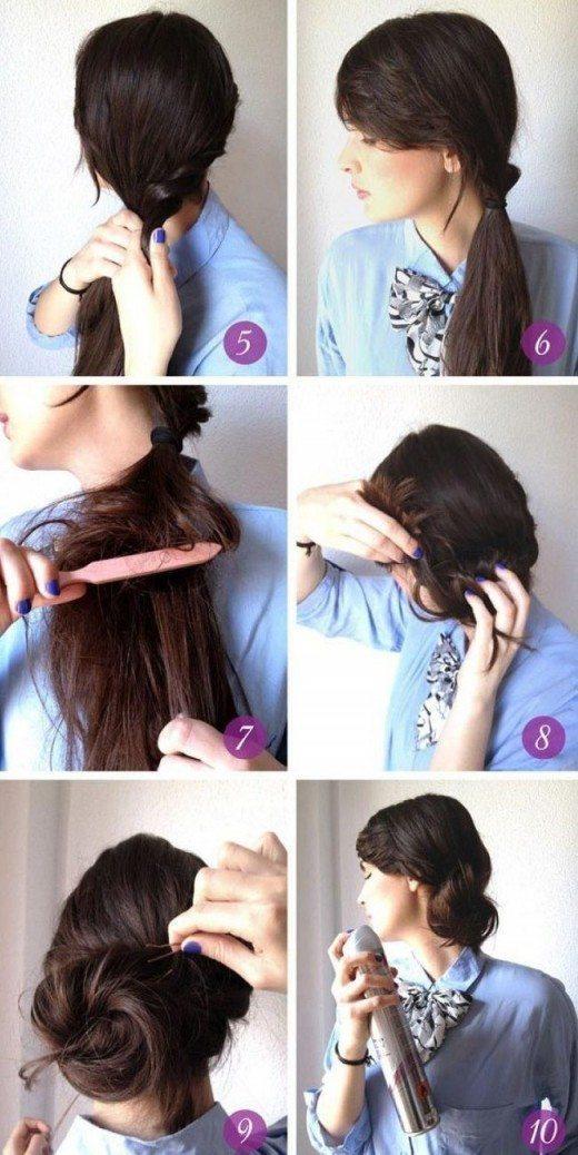 11 satriecošas idejas matu sakārtojumiem, kuri aizņems tikai 5 minūtes no jūsu laika 1