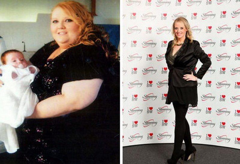 Viņa notievēja par 146 kg uzreiz pēc tam, kad zem viņas svara sadalījās vanna 1