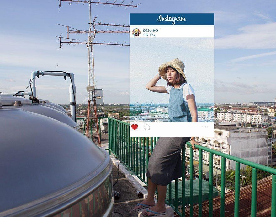 Kādu patiesību slēpj Instagram fotogrāfijas? Akmens populārā saita dārziņā 1