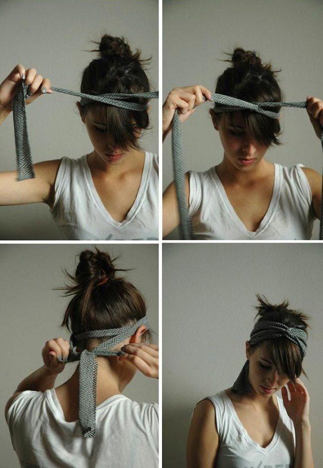 11 satriecošas idejas matu sakārtojumiem, kuri aizņems tikai 5 minūtes no jūsu laika 8