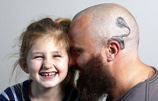Tēvs izdomāja veidu kā likt savai meitai nejusties atstumtai 1