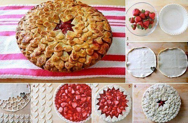 Fantastiskas idejas pīrāgu un smalkmaizīšu cepšanai 1