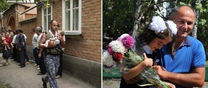 Aizkustinošs stāsts: 11 gadus pēc Beslanas traģēdijas meitenīte tiekas ar savu glābēju 1