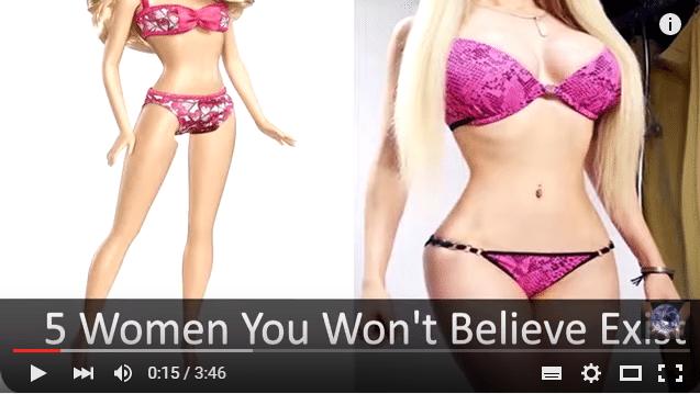 5 sievietes, kurām tu iespējams neticēsi, bet viņas ir REĀLAS!