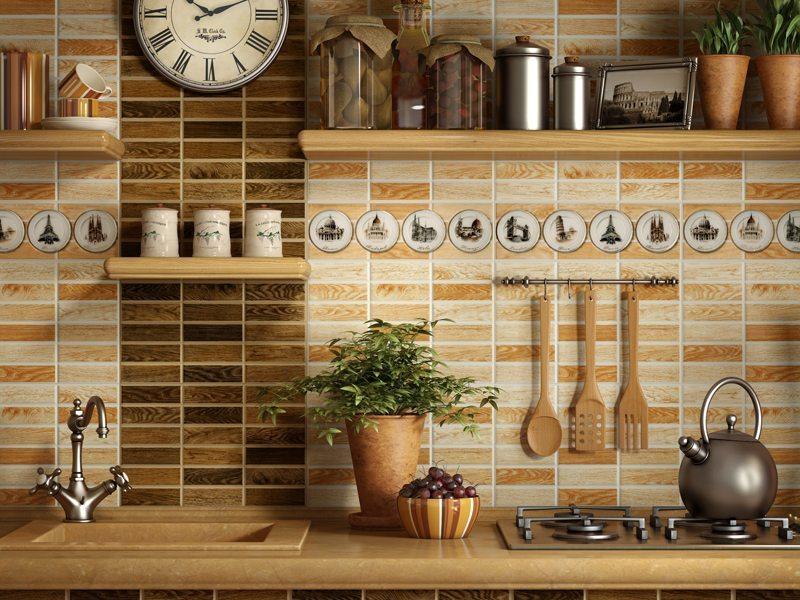 Padoms, lai virtuves flīžu sienas spīd un laistās