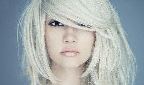 Maska blondiem matiem bez dzeltenuma