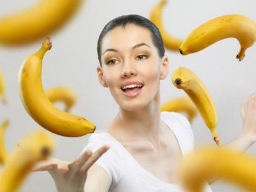 Banānu maskas, kuras izlīdzinās jūsu grumbas