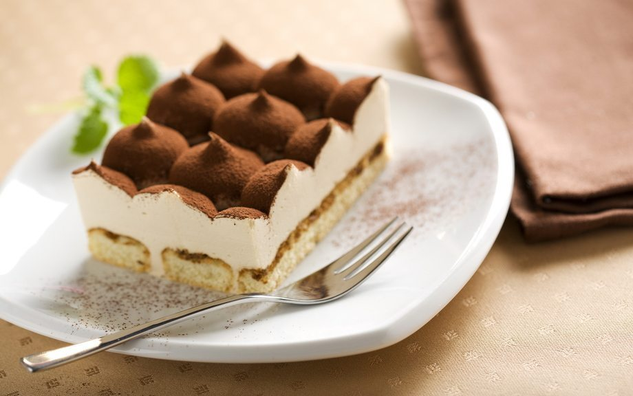 Pagatavo gardu Tiramisu kūku